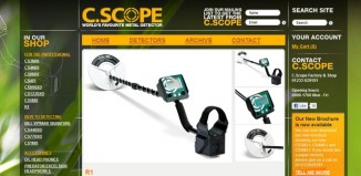 C SCOPE R1 metal detector