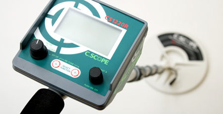 C-Scope CS1220R Metal Detector