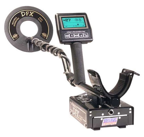 Used Whites Dfx Metal Detector Sale